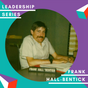 An Image of Frank Hall-Bentick at this desk.