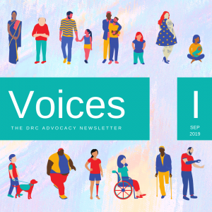 Cover of Voices I September 2019. Link to PDF