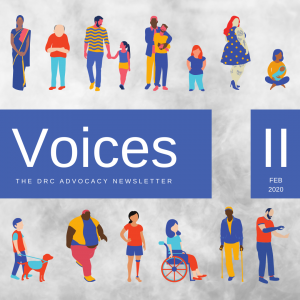 Cover of Voices II Feb 2020. Link to PDF